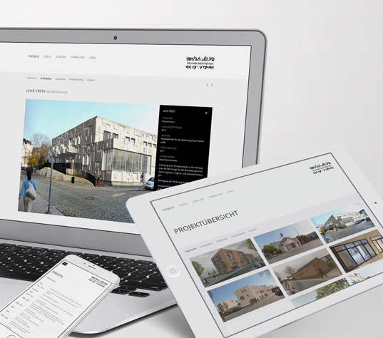 Responsive Website Böhlken Architektur